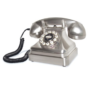 Retro Telefon - Lobby Chrome